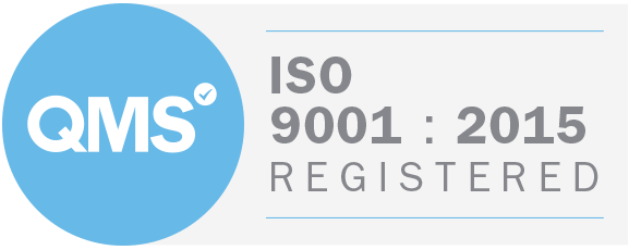 Iso 9001 2015 Badge White